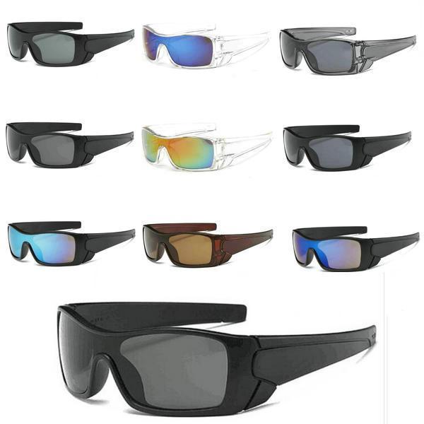 Cores Esporte Vendendo óculos de sol Forma Novo para óculos masculinos Mulheres Sunglass 9 Free Estilo 10 pçs / lote. UKTWU.