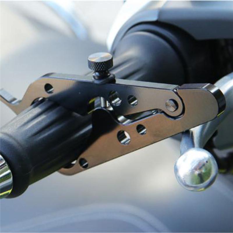 Régulateur de vitesse Universel Assisté d'accélérateur pince avec anneau en caoutchouc guidon pour la moto Moto Accessoires