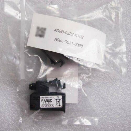 One New For FANUC A98L-0031-0028 1750mAH A02B-0323-K102 PLC battery