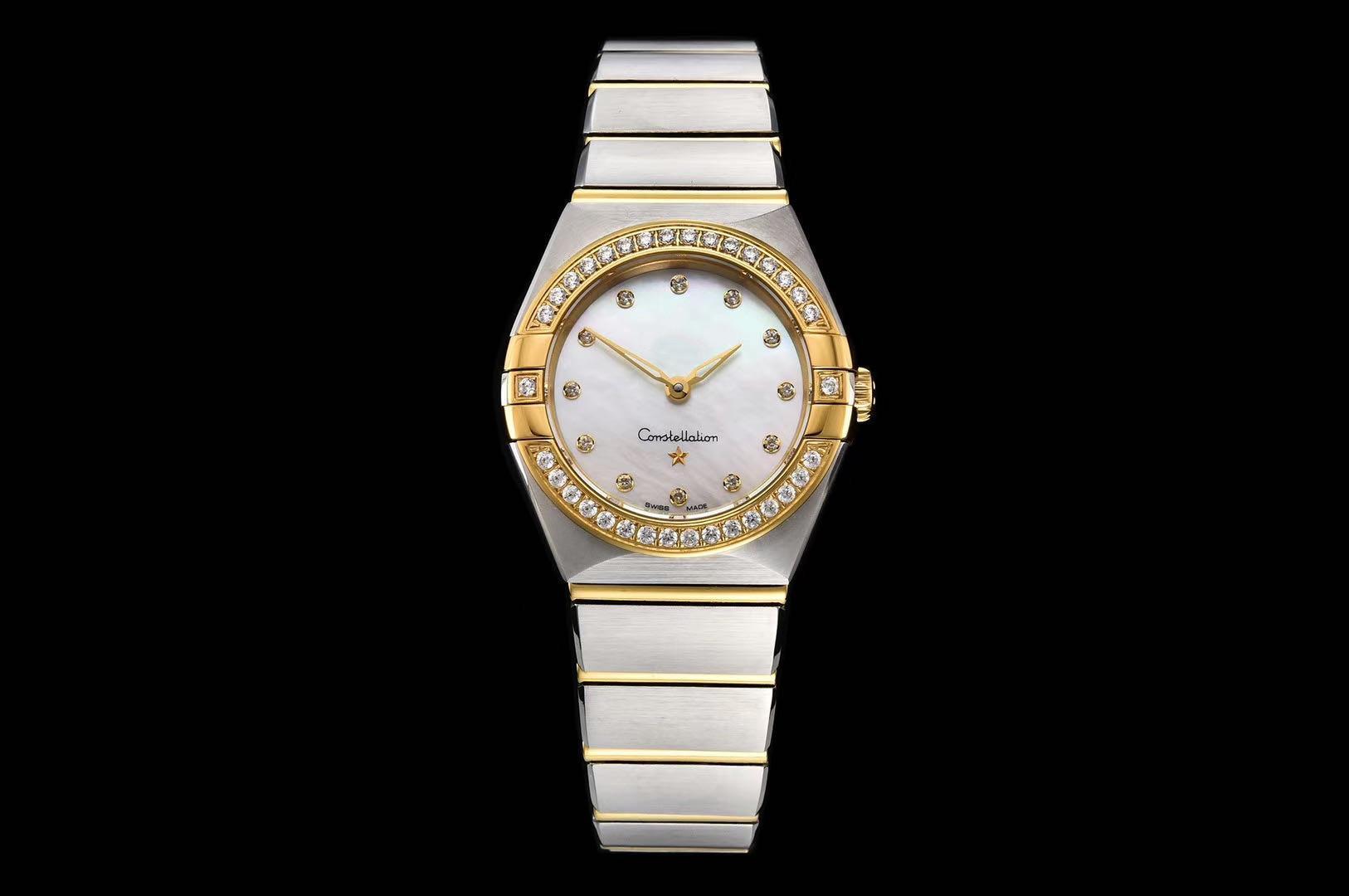 В 2020 году, яркое небо высокое качество, богиня того же диаметра размер 25 мм подлинной водонепроницаемый дамы часы наручные часы