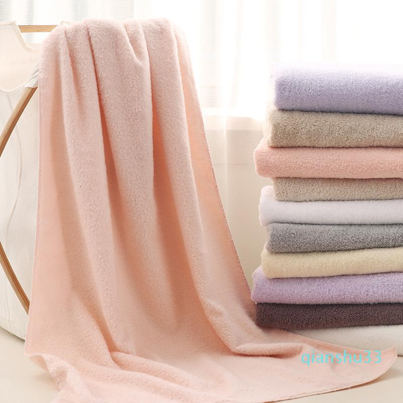 Lana mayor-algodón de azúcar suave terciopelo de algodón de Xinjiang largo alta mullido suave algodón de azúcar de color Toalla Absorción Círculo baño de agua
