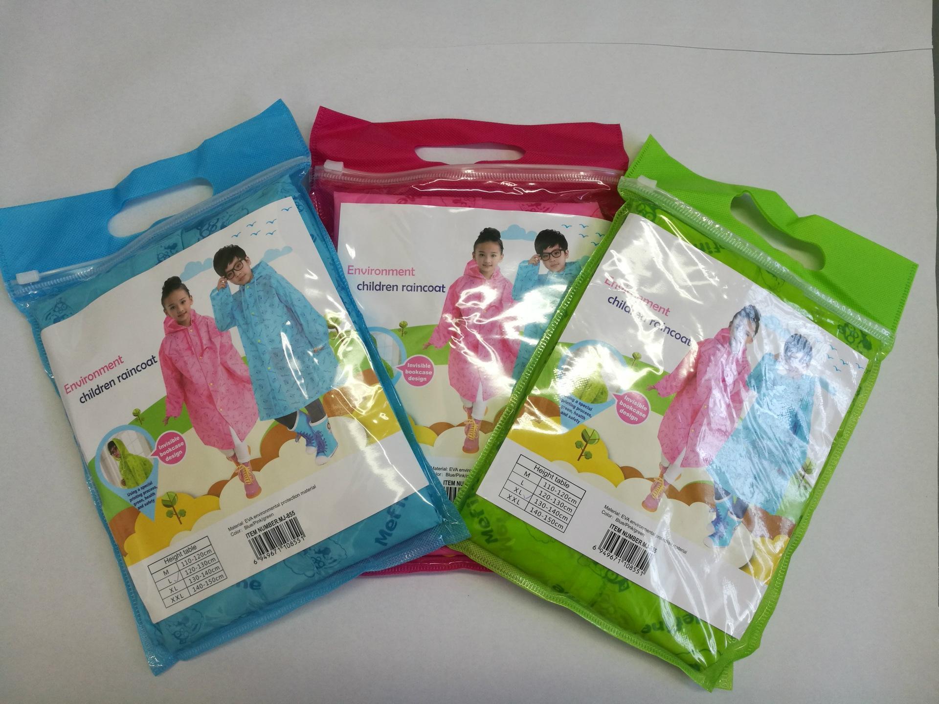 sede impermeabile EVA sede moda zainetto sDgur U6Lrn bambini poncho nuova yuyi stampato bambini impermeabile EVA studentessa di moda zainetto stu