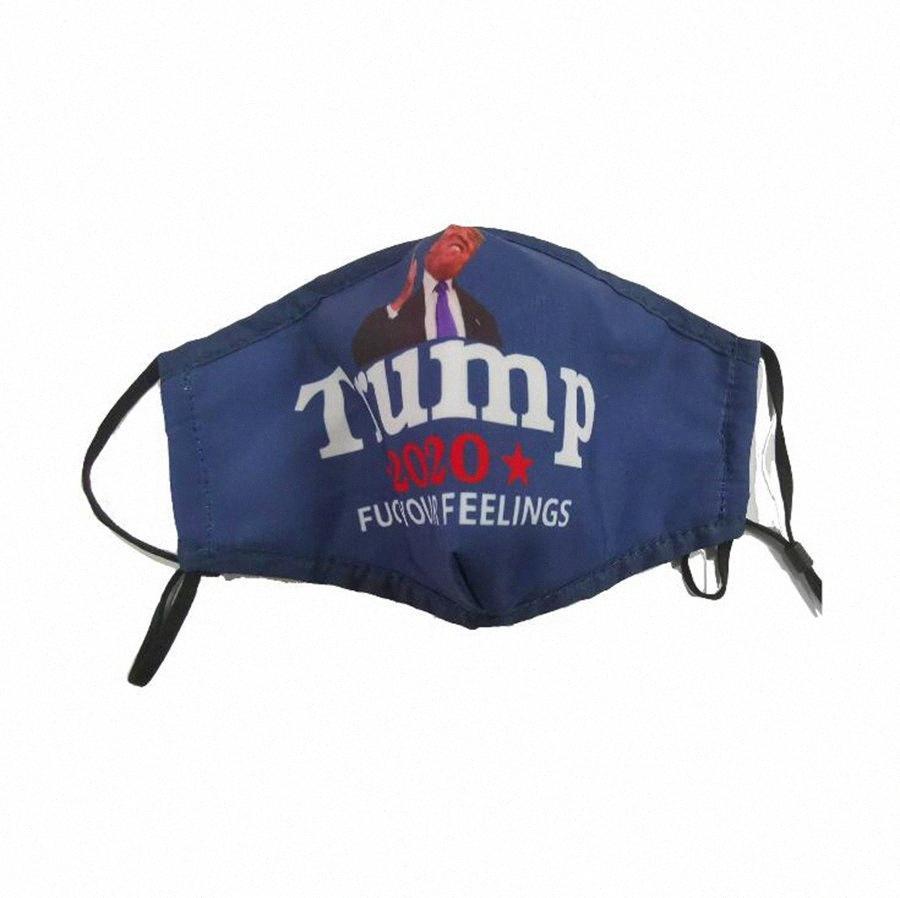 Trump Gesichtsmaske Anti-Staub Haze Trump 2020 Mask 3D Printed Cotton Make amerikanischen Great Again Brief gedruckt Mundschutz-Maske OOA8170 XcTT #