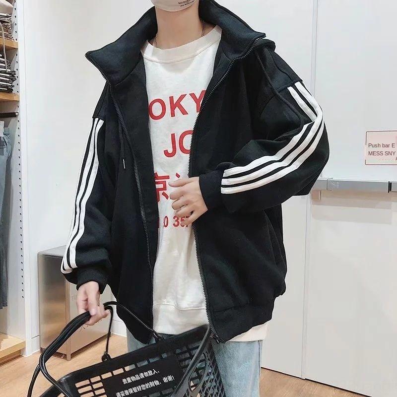 9xCYr MT76L 2019 осени кардиган свитер зимой корейских мужчины новой пары пальто свитера три-бар и стиль пальто мужской одежды