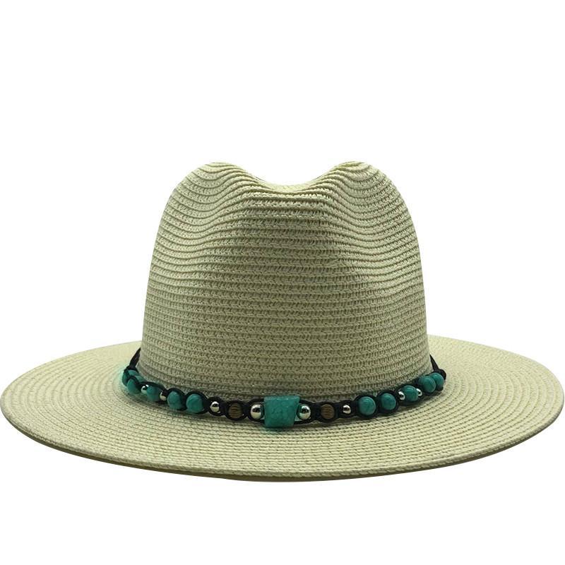 Горячий Простые Женщины панама Summer Sun Шляпа для мужчин Пляжа Соломенной шляпки для девочек Защиты от ультрафиолетовых лучей Cap CHAPEAU ф