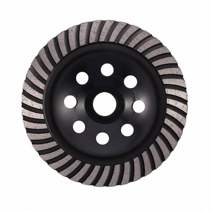6-дюймовый Алмазная Turbo Row шлифовального Кубок Wheel Подходит для 7/8 дюйма Arbor Алмазный шлифовальный диск для бетона Кладка Mzkq #