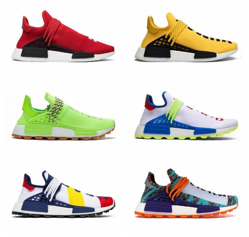 2020 a buon mercato NMD Human Race Phararrell Williams Donne da donna conosci l'anima infinita specie Solar Pack Mother Designer Fashion Sport Shoes 36-45