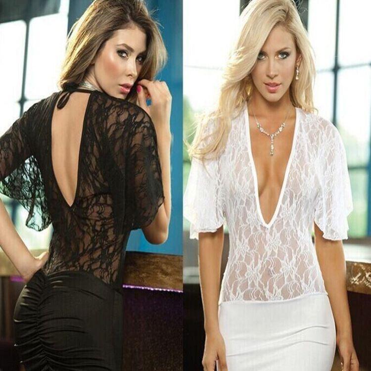 yUK7m Горячие продажи плюс размер сексуальное прозрачное кружевное белье нижнее белье ночной клуб сексуальные кружева 4193