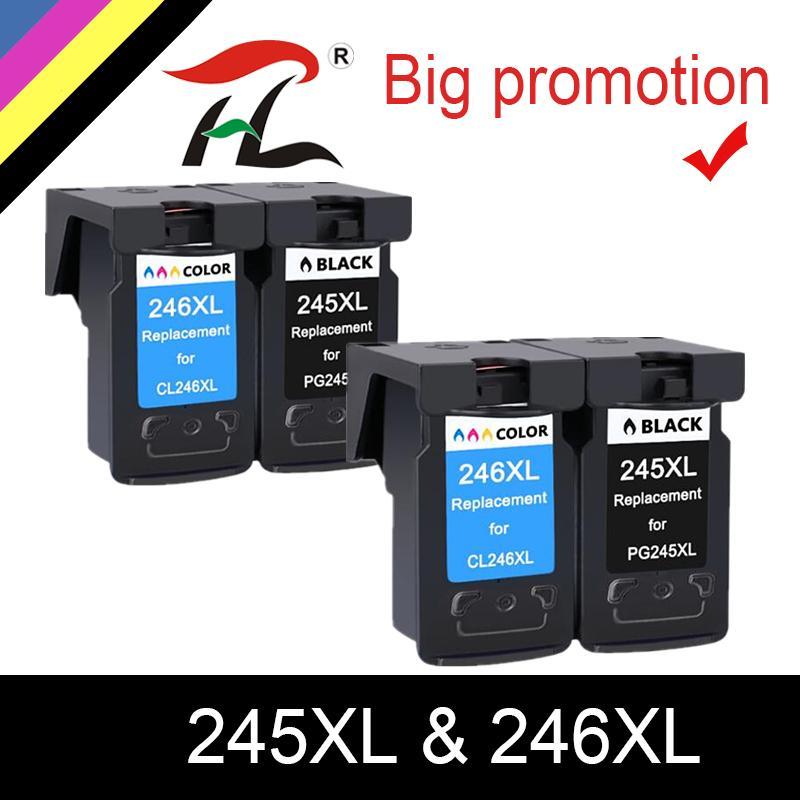 245 XL 245XL Mürekkep Kartuşları Yeniden üretilmiş Pixma IP 2820 MX 492 MG 2520 2924 2920 YLC PG245 PG245XL PG245XL PG245 PG