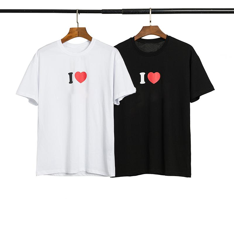 New Fashion Stylist Mens T Shirt Mens Women High Quality Short Sleeves Copule Ape Printing Tees Size S-XL