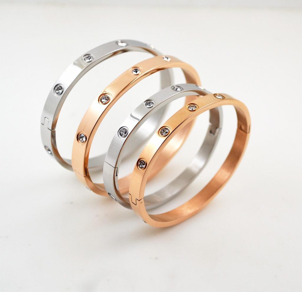 Bracelet de bracelet en acier inoxydable en acier inoxydable de 18 carats en acier inoxydable avec pierre pour hommes ou bracelet cadeau de Wamen