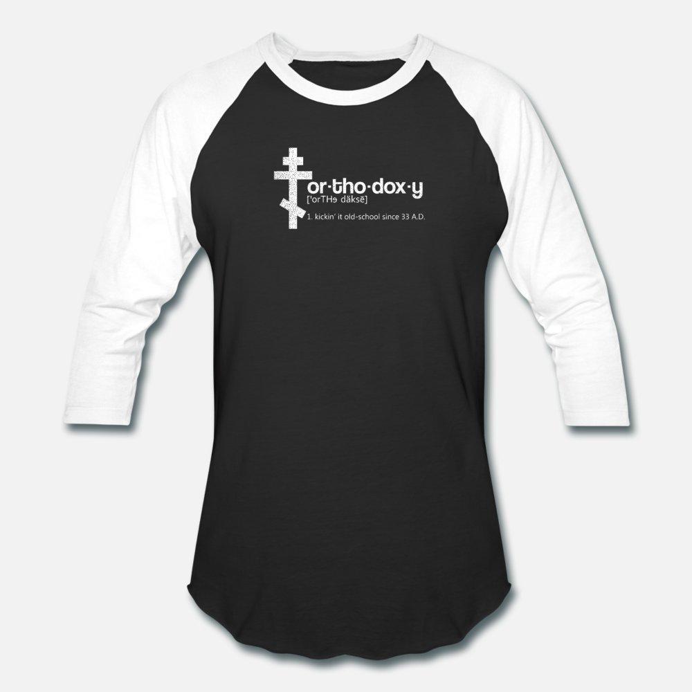 Regalo T Shirt ortodossi ortodossia Definizione pazzi 100% cotone rotonda Collare della novità Pazzo Umorismo primavera Slim