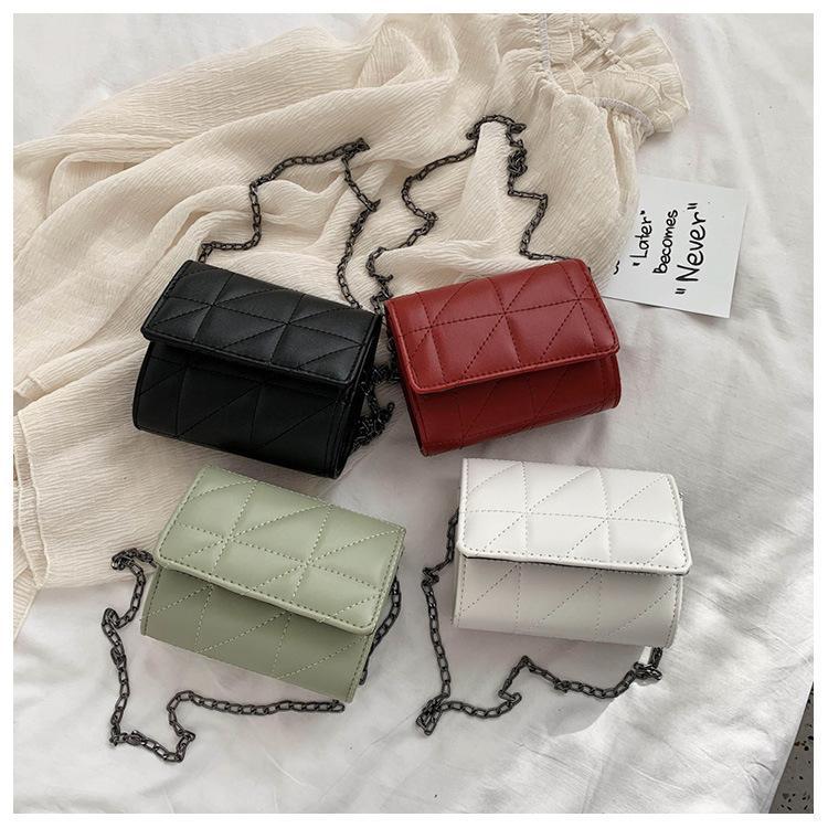 Женщины квадратный мессенджер Crossbody сумки сумка плеча и кожи дизайнер PU дама маленький лоскут женский роскошный цепные кошельки сумки мешок Meopg