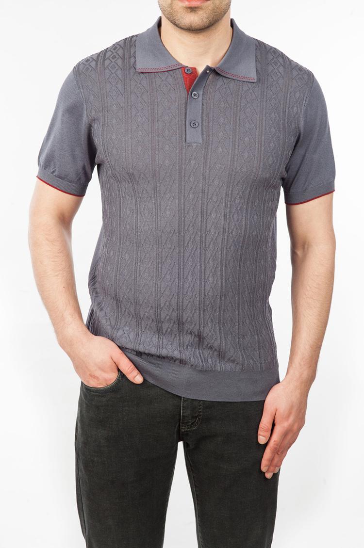 T-Shirt New Casual Uomo Magro Elasticità Elasticità 2020 Business Bovina Bovina da ricamo Ricamo Silk Short Wear Comfort Manicotto Zilli Pfxrt Tdwew