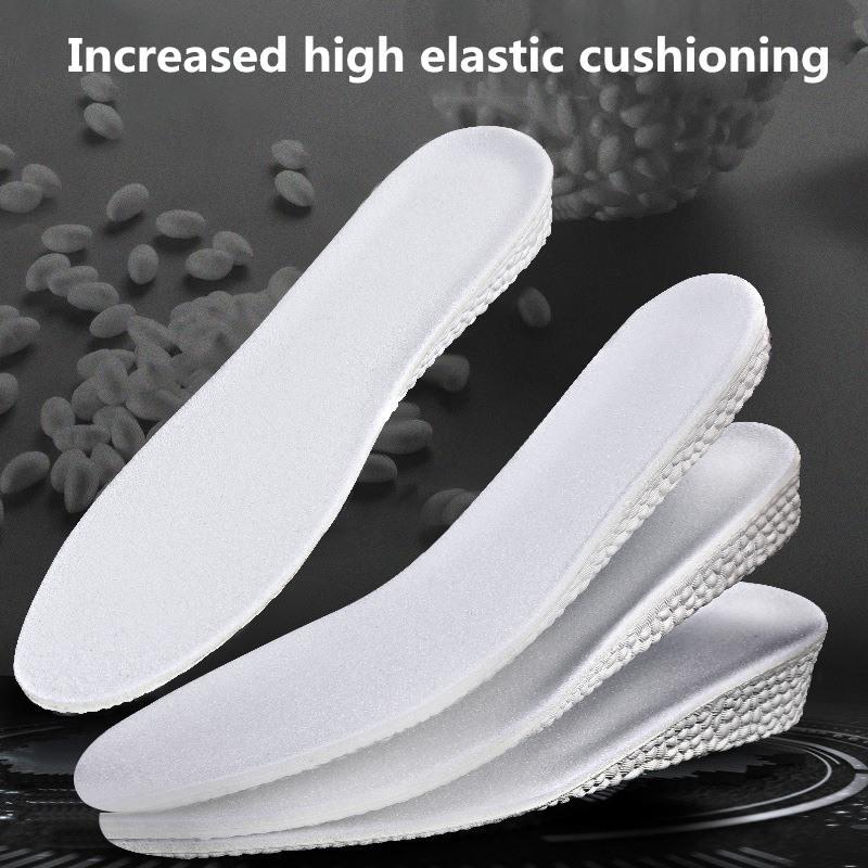 Factory Direct Vendas Invisible Inner aumentando palmilhas tirar os sapatos Palmilhas Heel Pad Semi-Pad Transparent Combinação Bionic