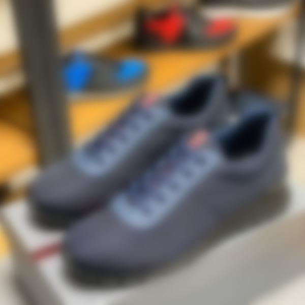 Prada Platform Günlük Ayakkabılar Gerçek Deri Sneakers Erkek Moda Moda Beyaz Deri Ayakkabı Düz Chaussures jh02