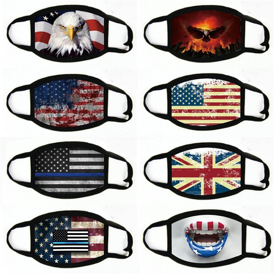 Maschere nere Lives Matter Maschera per il viso maschere di George Floyd adulti WashableUSA fronte della bandierina Designer maschera # 959