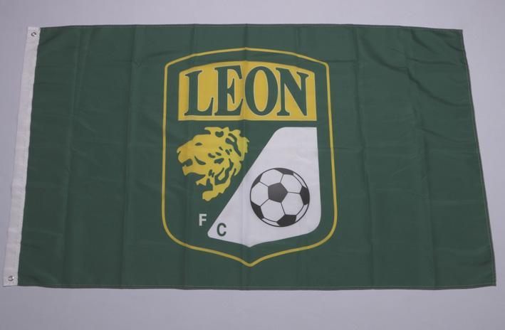 Mexiko Liga Verein LEON Fußball Verein Flag 3x5 FT Banner mit Tüllen