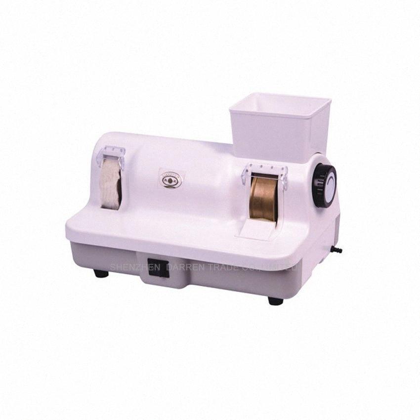 110V veya 220V, 120W VVWc # ile makine gözlük temizleyici parlatma 1PC Yüksek kalite el kitabı Mercek parlatıcı gözlük