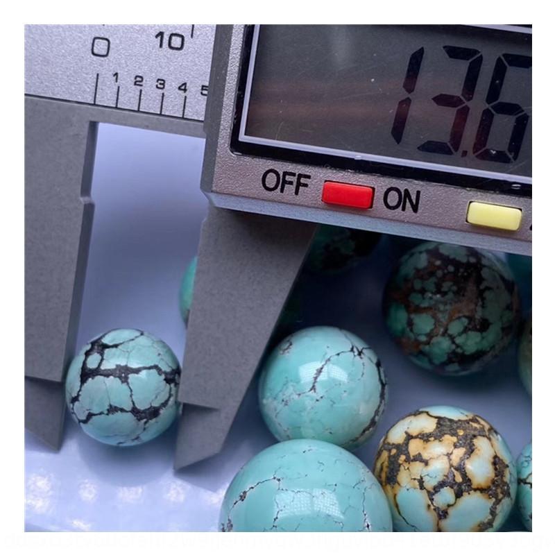 Ketang optimización alta fisura prima cuentas redondas mina de porcelana sin ningún DIY bolas gargantilla etc turquesa turquesa bricolaje. bRPHZ