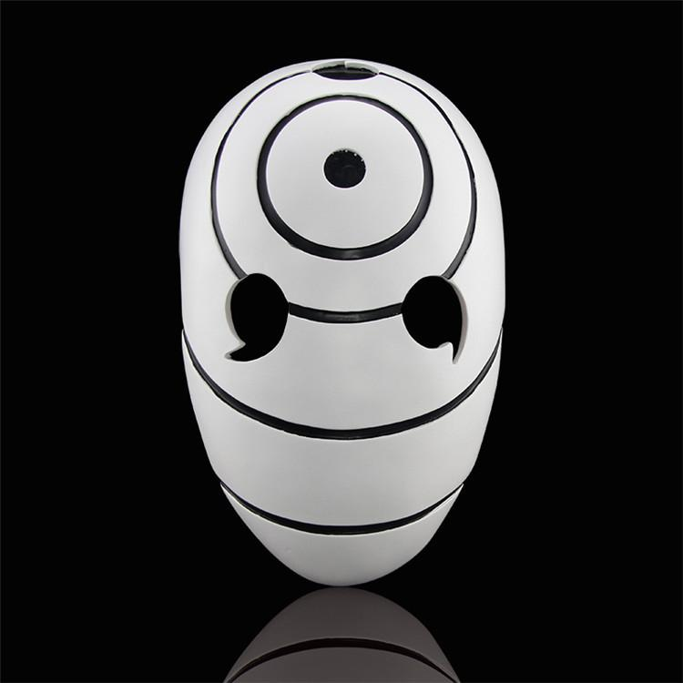 High Quality Halloween Party New Version Naruto Obito Anime Masks Tobi Uchiha Cosplay Costume Movie Prop Mask FA106 Y200103