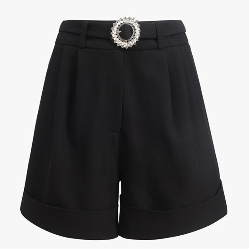 Pantalones cortos Fajas High Street 2020 más nuevas mujeres del diseñador de moda con estilo