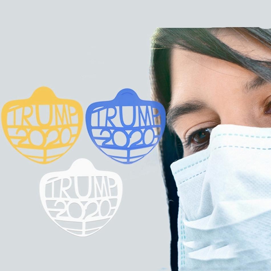 Parantez Trump Biden Ruj Koruma İç Destek İçin Freely Yüz Maskeleri Tutucu Aracı Aksesuar LJJP566 Breathe Maske Standı Maske 3D