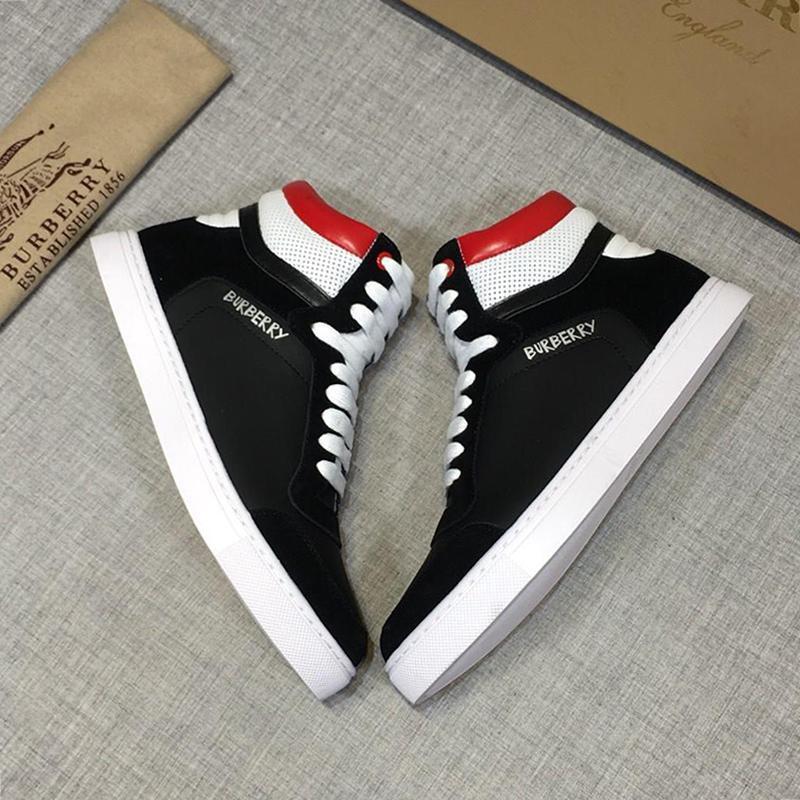 Yeni Geliş Erkek Lüks Boots Spor Yüksek Kaliteli Hafif Ayakkabı Yüksek Top Dantel -Up Artı boyutu Sneakers Erkek Ayakkabı Zapatillas Hombre