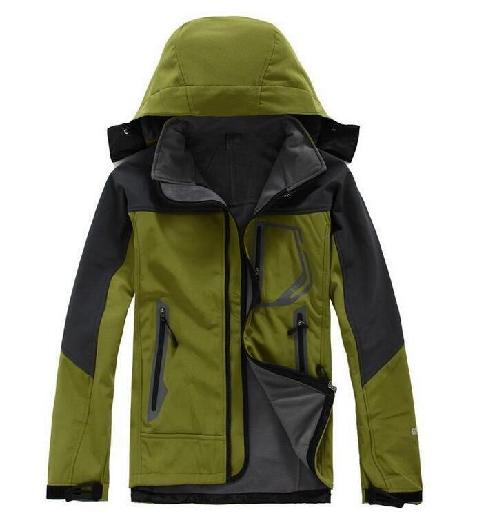 새로운 2020 핫은 남성 겨울 SoftShell 자켓 야외 북한 방수 방풍 군사 의류 겨울 코트면 무료 배송 B1 가을