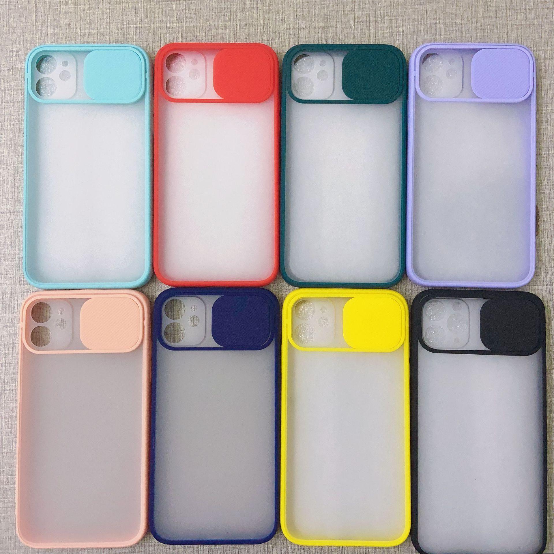 Чехол для телефона для iPhone X XR XS MAX 11 PRO 7 8 PLUS COLOR Soft TPU защита камеры