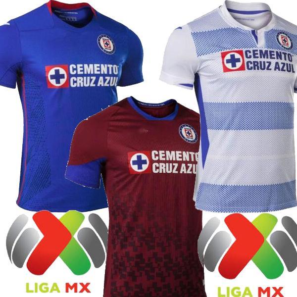 2021 Mexico Club Cruz Azul HOME Blue AWAY Mens SOCCER JERSEYS ALVARADO RODRIGUEZ PINEDA ESCOBAR CD Cruz Azul JERSEY FOOTBALL SHIRTS 20 21