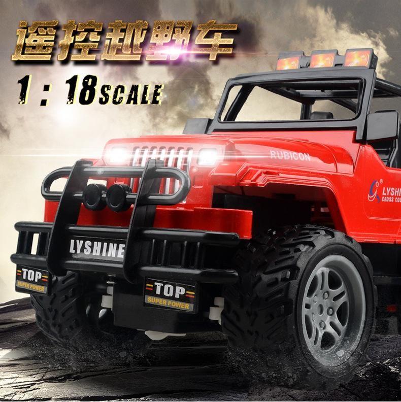 1:18 Niño camino radio control remoto coche coche vehículo camino jeep juguete SUV vehículo super eléctrico niño RC OFF CGKTL