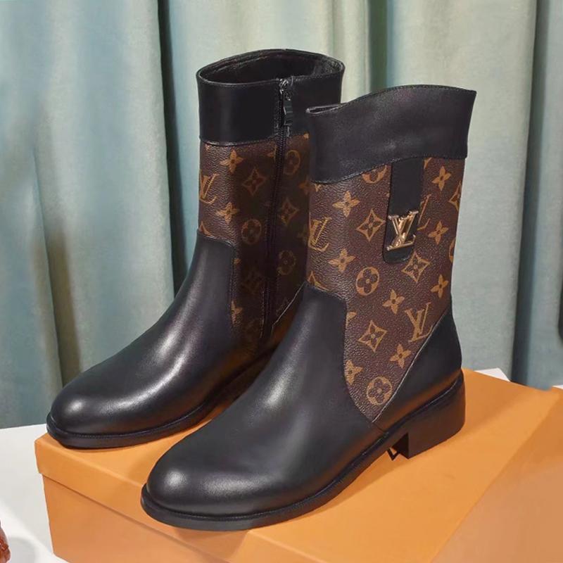 Женская Обувь Riefsaw Зима мотоциклов Boots Luxury Lunkal Chaussures De Femme Женская обувь Сапоги Martin Zipper Boots Zapatos De Mujer