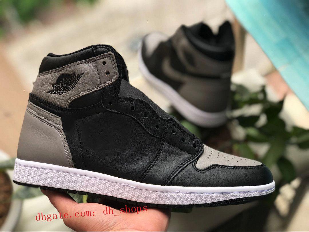 Chaussures 1 Vendre Mid 2020 New Mens haute OG Basketball Jeu royal Banned Ombre Bred Rouge Bleu Blanc Toe Chaussures pas cher pour femme Chaussures de sport Chicago