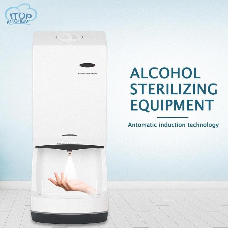 Automatico Touchless mano Disinfezione macchina Alcol Mist Spray Atomize disinfettante dell'erogatore del sapone Parete 1500ml Per la casa vbHN #