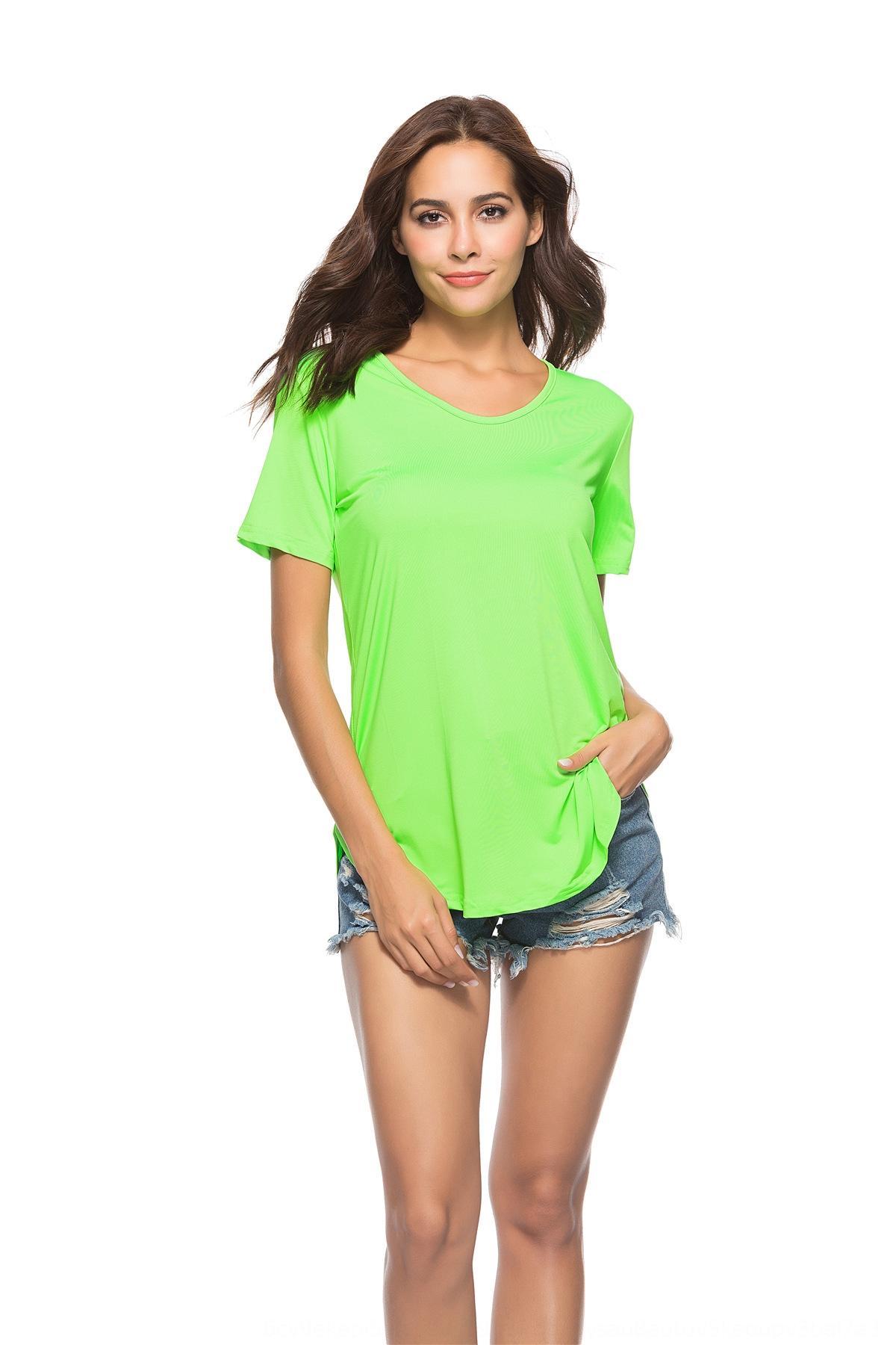 h2IlK oben sexy frauen- für Frauen des neuen Frauen der Spitzenfrauen sexy Shirt Kurzarm-T-T-Shirt für kurzärmelige