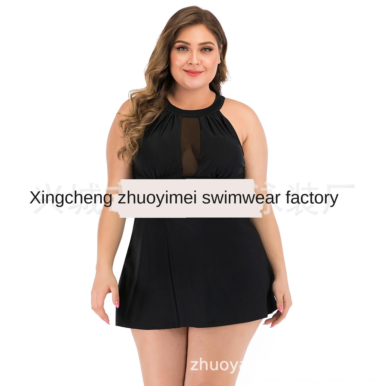 Xj86H tamaño de malla 2020, más dividida grasa grande del bikini traje de baño atractivo de la manera multicolor traje de baño bikini