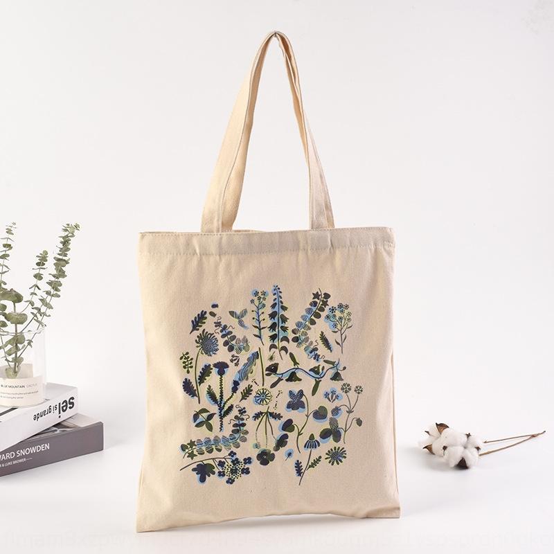 desen çevre dostu taşınabilir alışveriş Tuval alışveriş pamuk torbası ısı transferi tuval çantası özelleştirilmiş