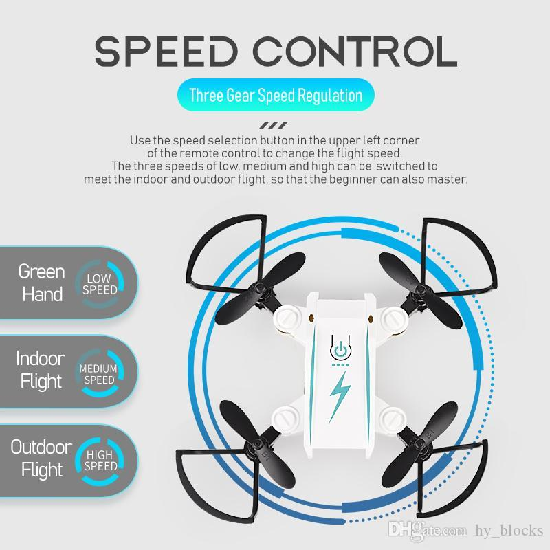 Mini Drone 2.4G Remote Control 4 Axis RC Micro Quadcopters With Headless Mode Flying Helicopter For Kids Birthday educational Gift toys