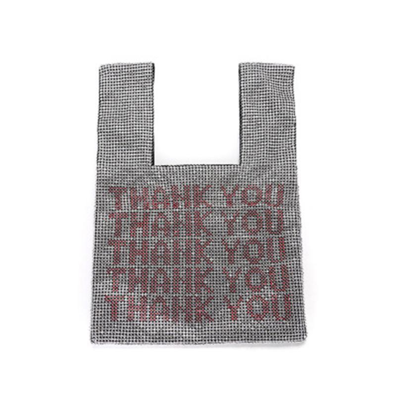 Frauen Strass Handtasche Glänzende Handtaschen-Abend-Beutel für Bankett-Partei Weddng Besten Sale-