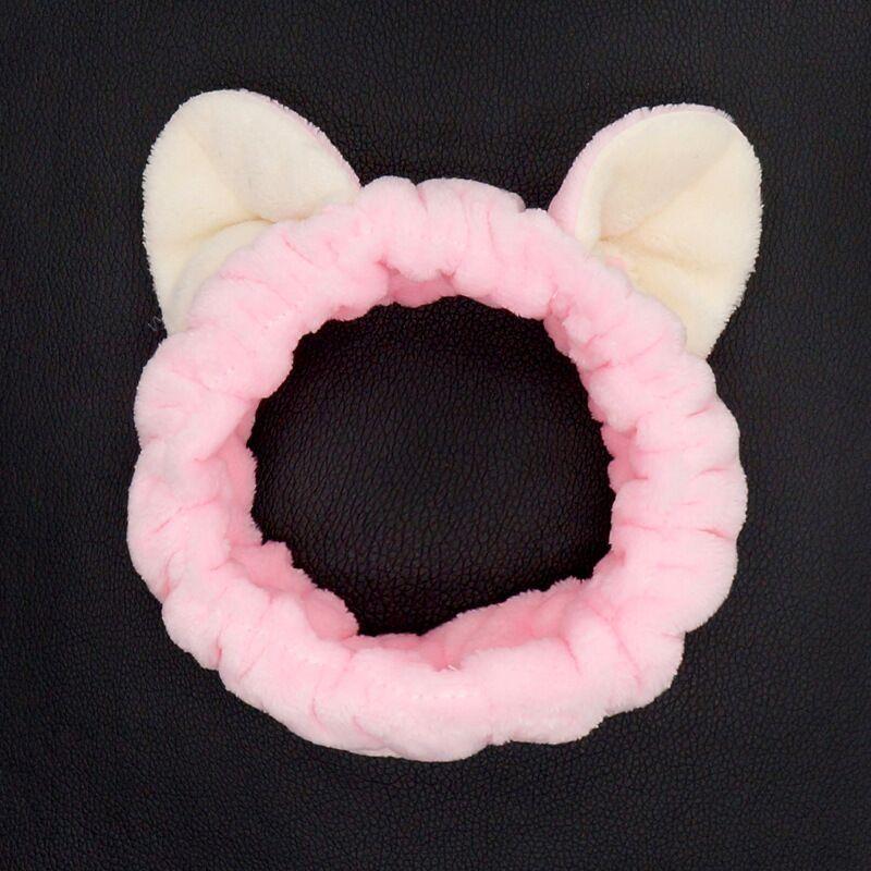 peli di gatto nuovo lavaggio moda Jing Tian dell'orecchio stesso simpatico gatto fascia della fascia dei capelli ispessiti inverno disponibili 5LQVX