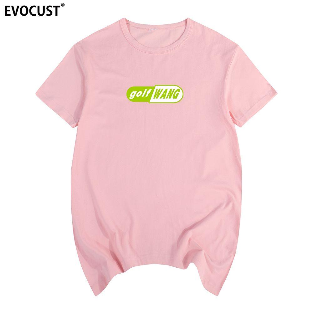 Golf Wang Tyler The Creator Cápsula de la bomba de cereza del patín OFWGKTA camiseta de algodón camiseta de los hombres nueva camiseta camiseta para mujer