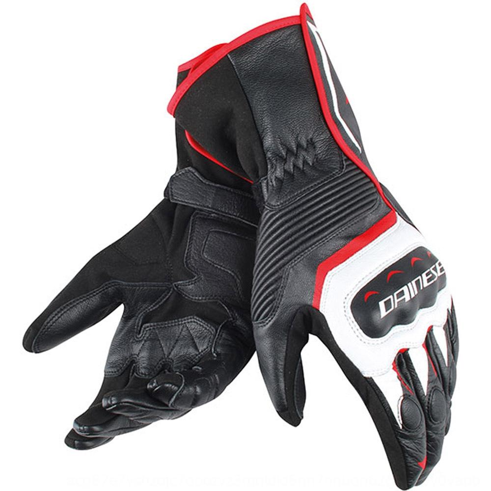 Assen Motorcycle and long motorcycle corpse gloves hard case racing anti-fall waterproof gloves non-slip