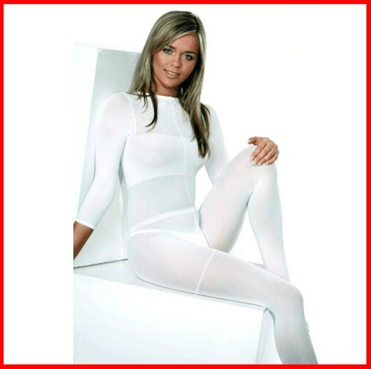 MOQ 10 PCS !!! Белый / черный корпус LPG роликовый массаж костюм вакуумный костюм для VelaShape терапии машина высокой эластичностью мягкой облечь CE / DHL