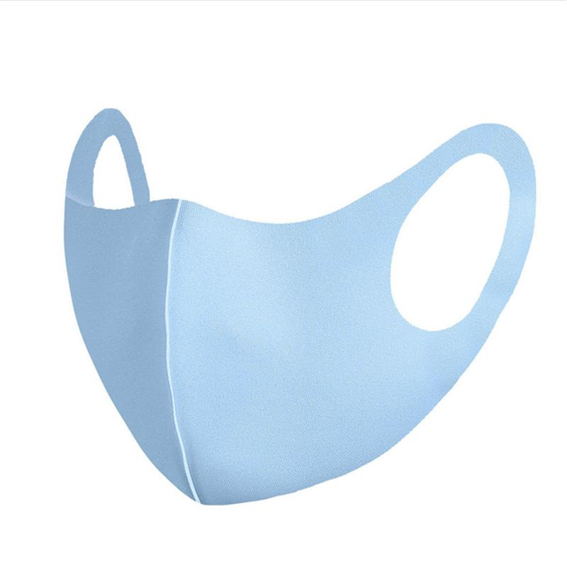 Masque de mode solide de la bouche DJMK Unisesex masque couvercle cyclisme respirant tarte réutilisable lavable faletable faas Masque FA portant la bouche mince-molf e9 o ev mbcw