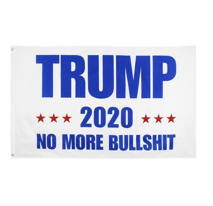 Elección de los Estados Unidos de 2020 Banderas 90 * 150 cm poliéster Bandera impresa Trump Keep America gran presidente Nuevamente campaña de banners DHL envía FY6061