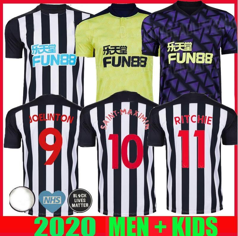 20 21 Newcastle RITCHIE SOCCER JERSEYS HOME weg dritt UNITED JOELINTO 2020 2021 Haus LASCELLES Shelvey FOOTBALL YEDLIN Shirts Männer Kinder-Kit