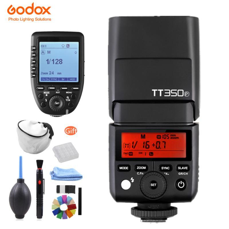 In Stock! GODOX Mini350P350L HSS 2.4GHz Wireless Flash XPro-P Trigger for Pentax 645Z K-3II K-1 KP K-50 K-S2 K70 Camera