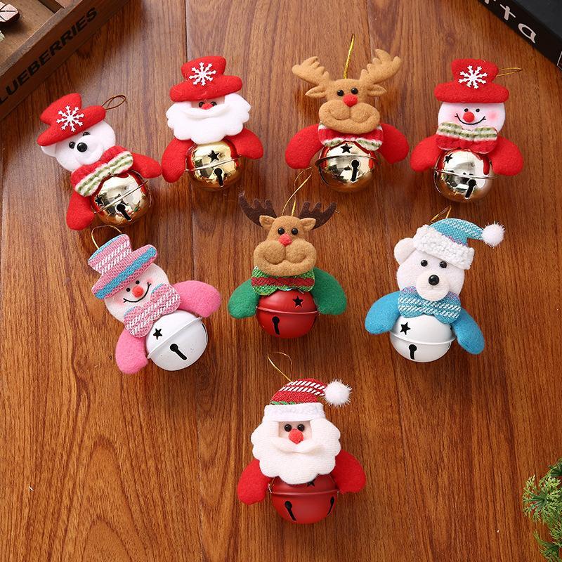 شجرة عيد الميلاد الديكور دمية قلادة عيد الميلاد لطيف وحساس الديكور الإبداعية الرئيسية تجميل حلية دي إتش إل الحرة