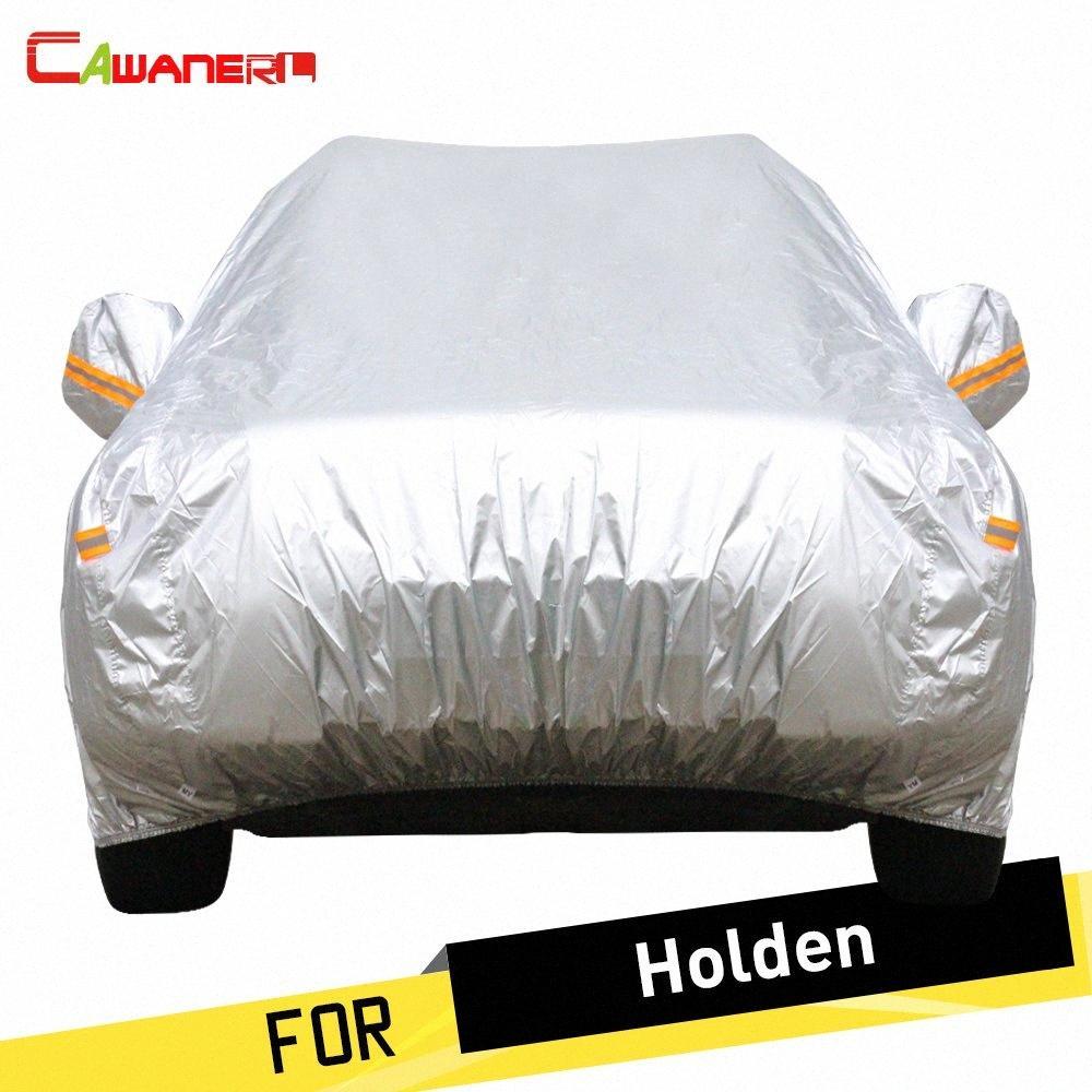 Cawanerl Автомобиль Обложка Anti UV ВС снег дождя Защитная крышка пыленепроницаемый приспособленное для Holden Cruze Epica Monaro Sportwagon Ute Statesman 7hRw #